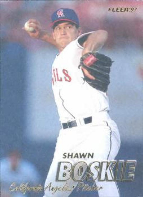 1997 Fleer #36 Shawn Boskie VG Anaheim Angels