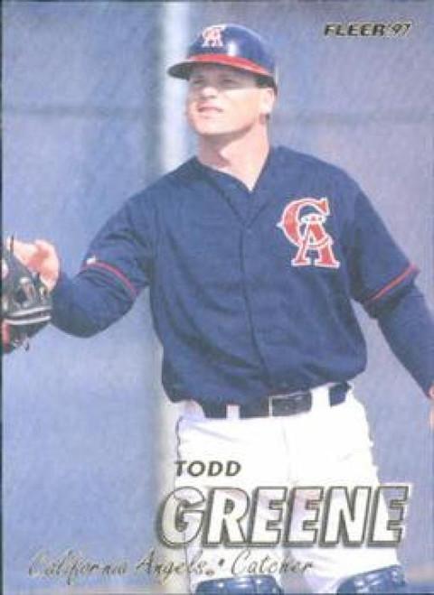 1997 Fleer #44 Todd Greene VG Anaheim Angels