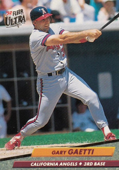 1992 Ultra #26 Gary Gaetti VG California Angels
