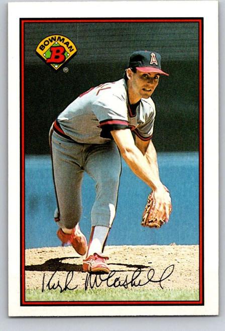 1989 Bowman #38 Kirk McCaskill VG California Angels