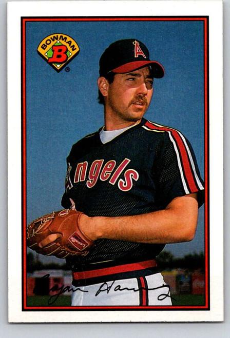 1989 Bowman #40 Bryan Harvey VG RC Rookie California Angels