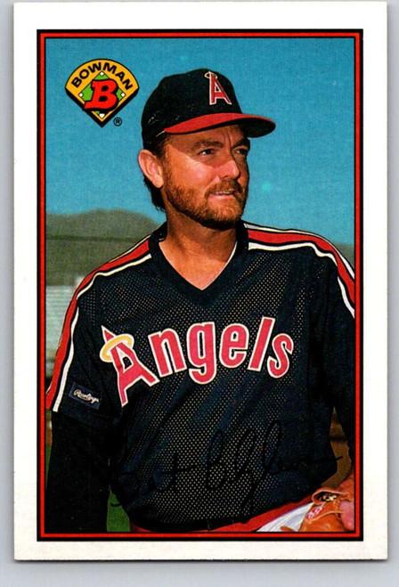 1989 Bowman #41 Bert Blyleven VG California Angels