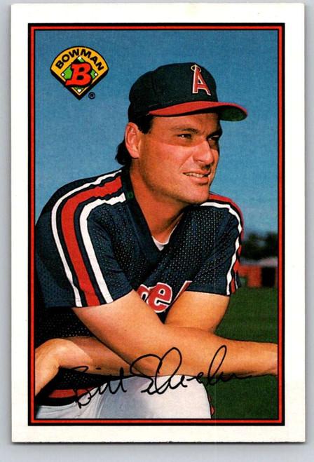 1989 Bowman #44 Bill Schroeder VG California Angels