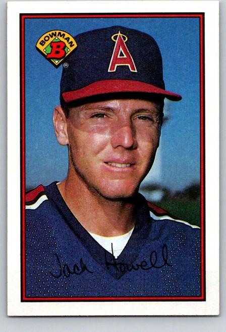 1989 Bowman #48 Jack Howell VG California Angels