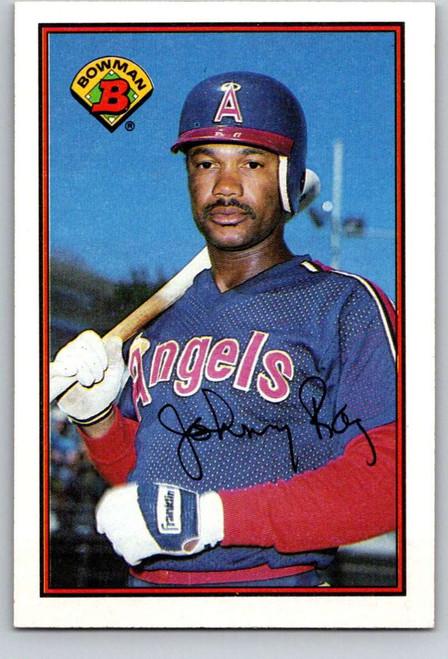 1989 Bowman #49 Johnny Ray VG California Angels