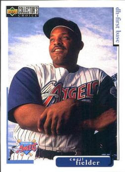 SOLD 61262 1998 Collector's Choice #282 Cecil Fielder VG  Anaheim Angels
