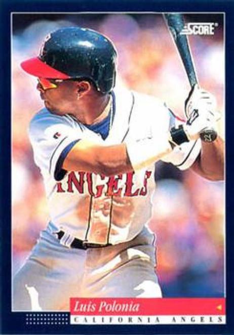 1994 Score #45 Luis Polonia VG California Angels