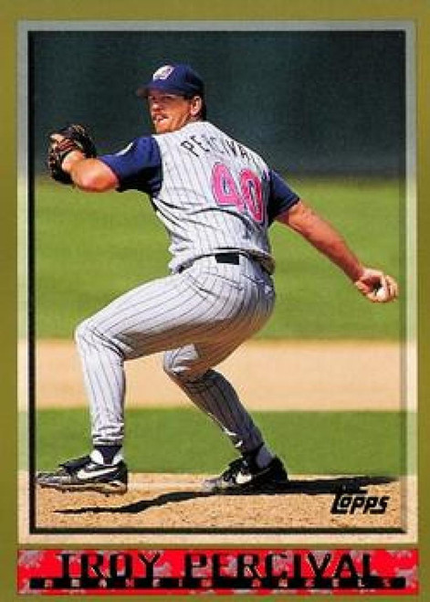 SOLD 65539 1998 Topps #308 Troy Percival VG Anaheim Angels