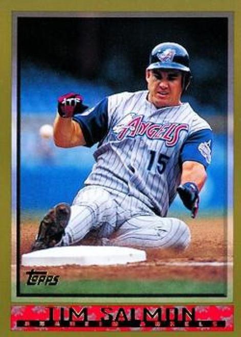 SOLD 65543 1998 Topps #312 Tim Salmon VG Anaheim Angels