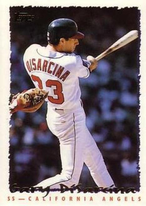 1995 Topps #12 Gary DiSarcina VG  California Angels