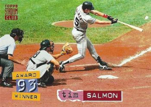 1994 Stadium Club #36 Tim Salmon VG California Angels