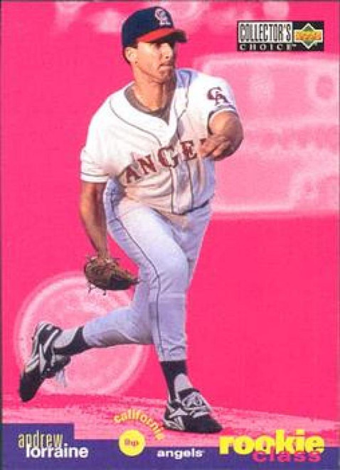 1995 Collector's Choice #13 Andrew Lorraine VG California Angels
