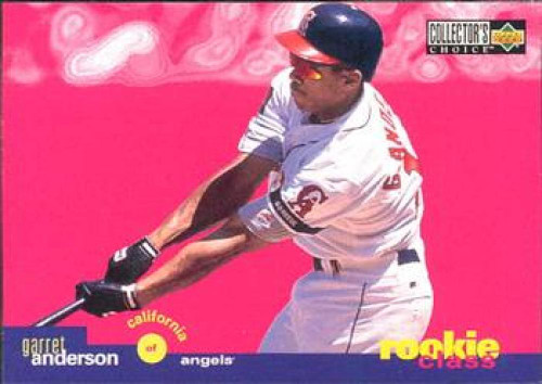 1995 Collector's Choice #23 Garret Anderson VG California Angels