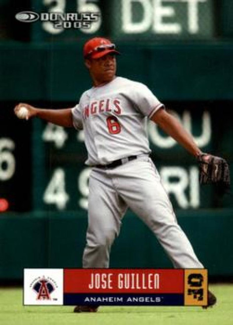 2005 Donruss #79 Jose Guillen VG Los Angeles Angels