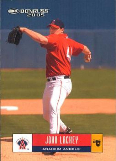 2005 Donruss #78 John Lackey VG Los Angeles Angels