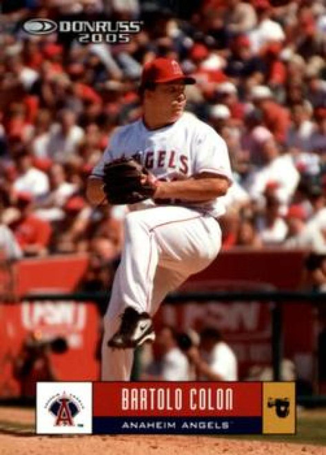 2005 Donruss #71 Bartolo Colon VG Los Angeles Angels