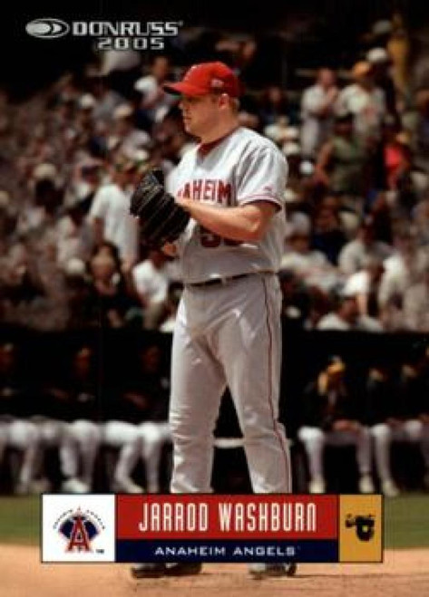 2005 Donruss #77 Jarrod Washburn VG Los Angeles Angels
