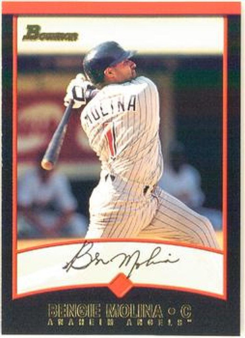 2001 Bowman #136 Bengie Molina VG Anaheim Angels