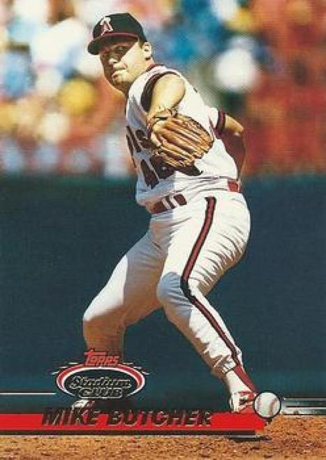 1993 Stadium Club #121 Rene Gonzales VG California Angels