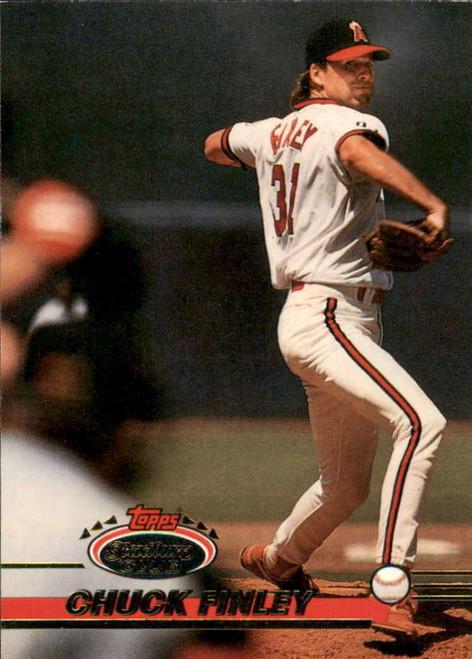 1993 Stadium Club #301 Chuck Finley VG California Angels