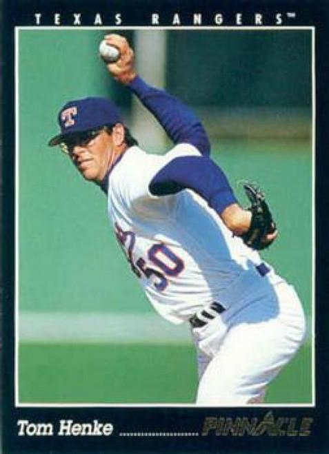 1993 Pinnacle #546 Tom Henke VG Texas Rangers