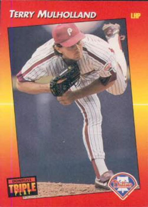 1992 Triple Play #11 Terry Mulholland VG Philadelphia Phillies