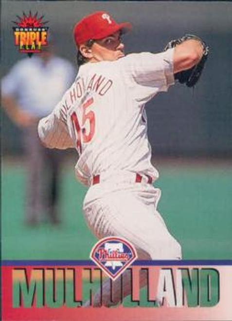 1994 Triple Play #178 Terry Mulholland VG Philadelphia Phillies