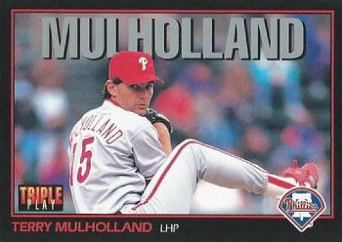 1993 Triple Play #170 Terry Mulholland VG Philadelphia Phillies