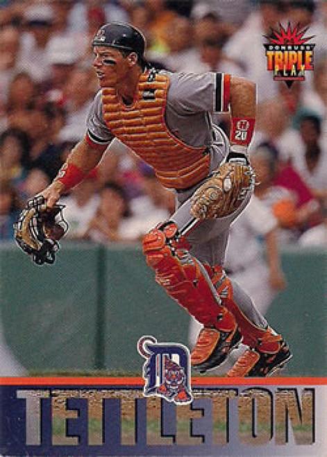 1994 Triple Play #248 Mickey Tettleton VG Detroit Tigers