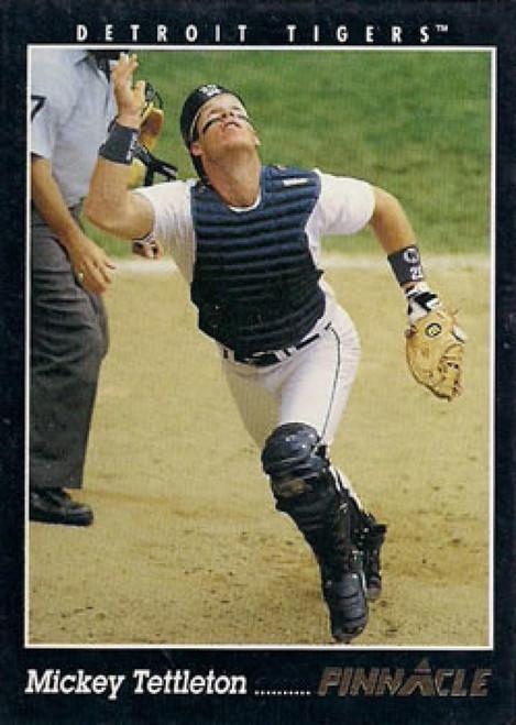 1993 Pinnacle #52 Mickey Tettleton VG Detroit Tigers