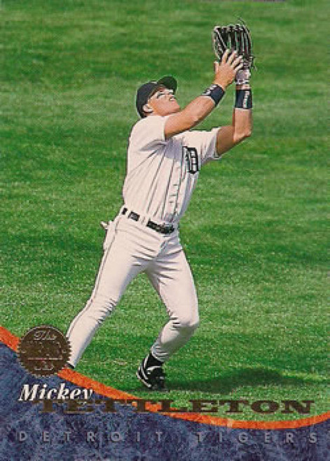 1994 Leaf #279 Mickey Tettleton VG Detroit Tigers