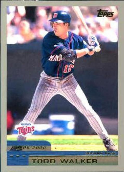 2000 Topps #57 Todd Walker VG Minnesota Twins