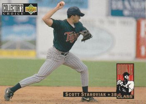 1994 Collector's Choice #18 Scott Stahoviak VG Minnesota Twins