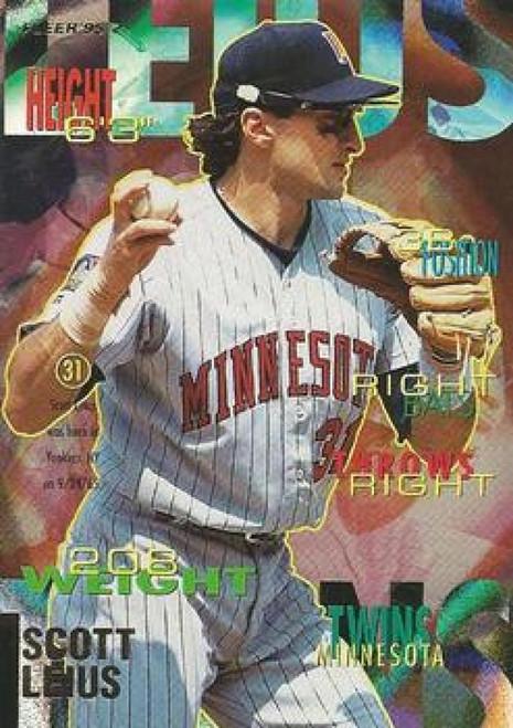 1995 Fleer #207 Scott Leius VG Minnesota Twins