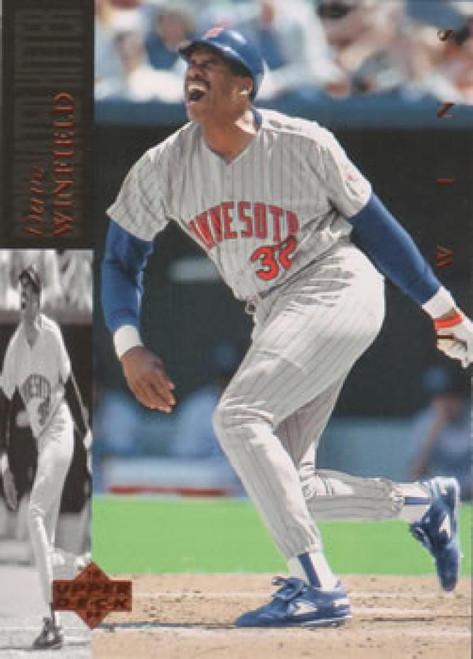 1994 Upper Deck #81 Dave Winfield VG Minnesota Twins