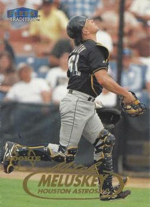 1998 Fleer Update #U61 Mitch Meluskey VG RC Rookie Houston Astros