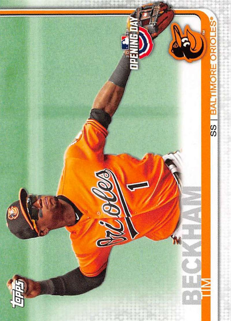 2019 Topps Opening Day #64 Tim Beckham NM-MT Baltimore Orioles