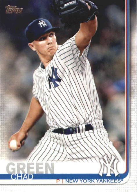 2019 Topps #25 Chad Green NM-MT New York Yankees