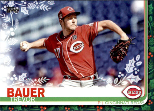 2019 Topps Holiday #HW1 Trevor Bauer NM-MT  Cincinnati Reds