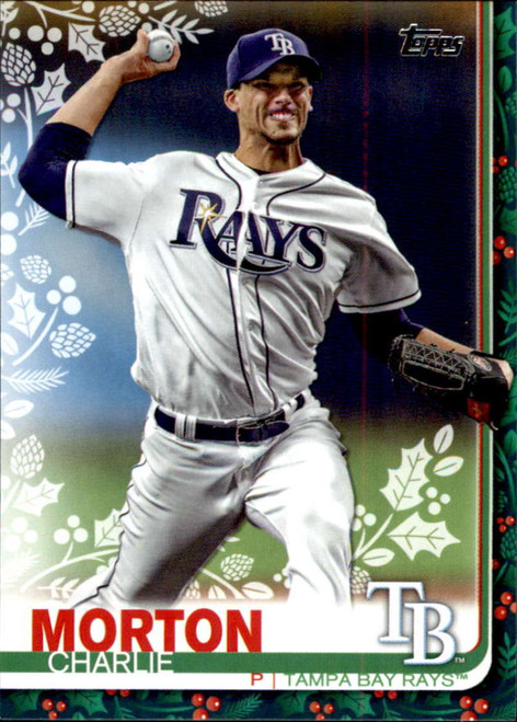 2019 Topps Holiday #HW2 Charlie Morton NM-MT  Tampa Bay Rays