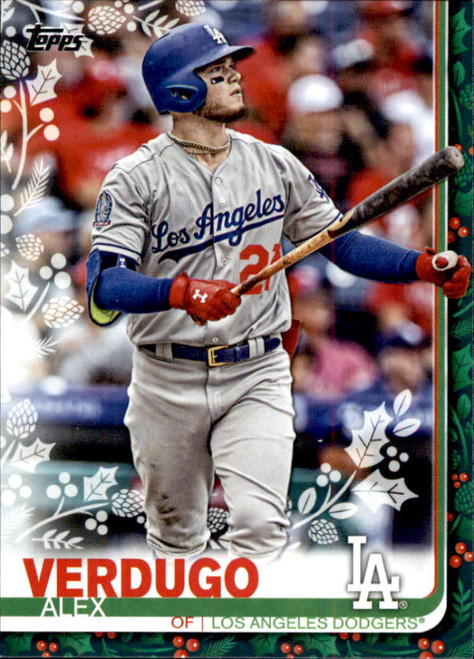 2019 Topps Holiday #HW9 Alex Verdugo NM-MT  Los Angeles Dodgers