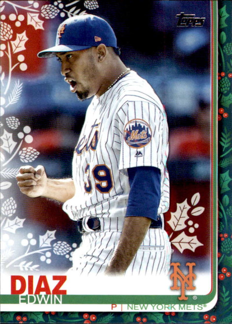 2019 Topps Holiday #HW15 Edwin Diaz NM-MT  New York Mets