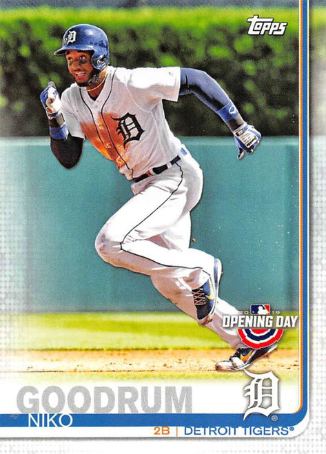 2019 Topps Opening Day #9 Niko Goodrum NM-MT Detroit Tigers