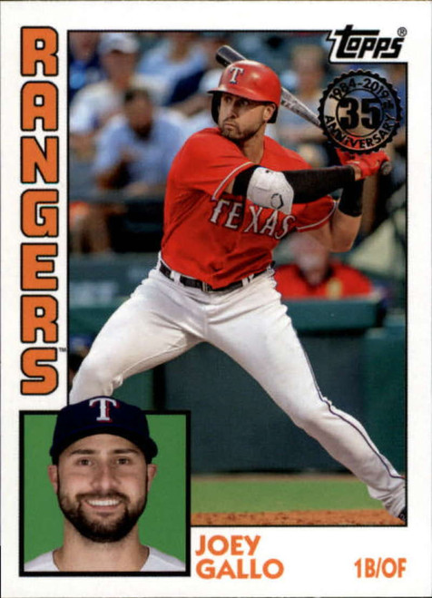 2019 Topps 1984 Topps #T84-53 Joey Gallo NM-MT  Texas Rangers