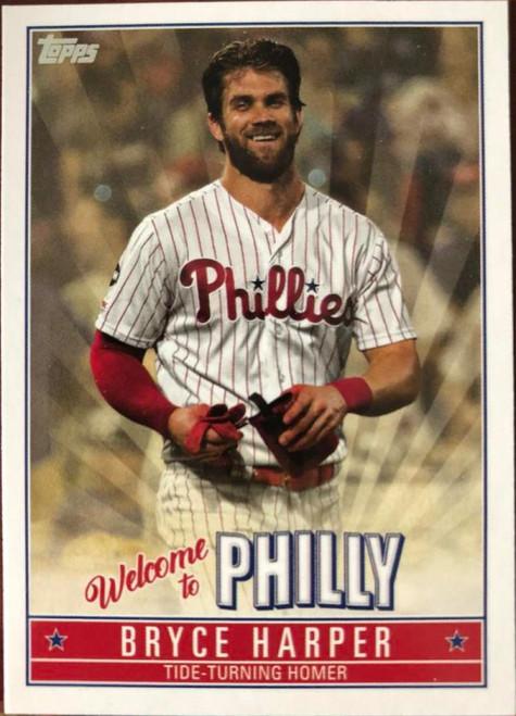 SOLD 79855 2019 Topps Update Bryce Harper Highlights #BH-7 Bryce Harper NM-MT  Philadelphia Phillies