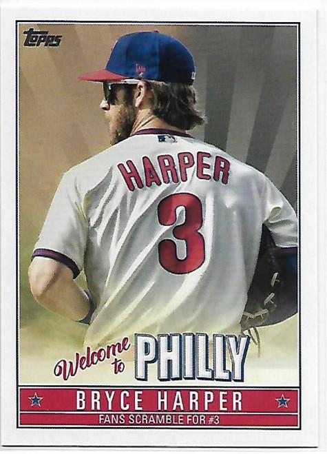 SOLD 79859 2019 Topps Update Bryce Harper Highlights #BH-11 Bryce Harper NM-MT  Philadelphia Phillies