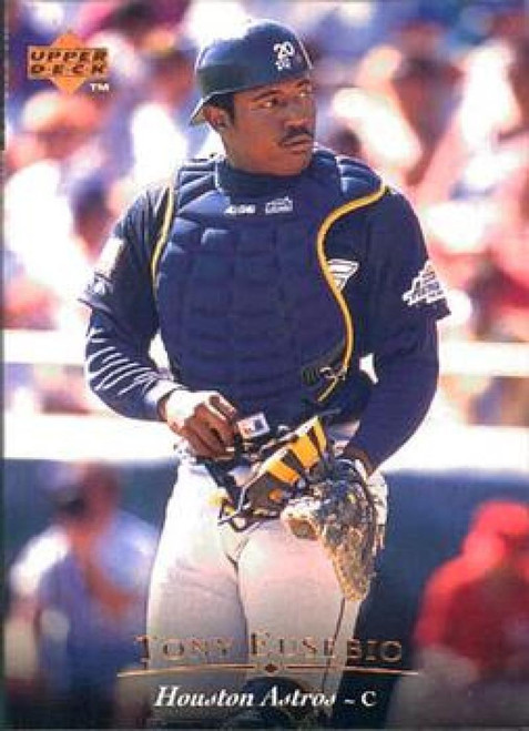 1995 Upper Deck #24 Tony Eusebio VG Houston Astros