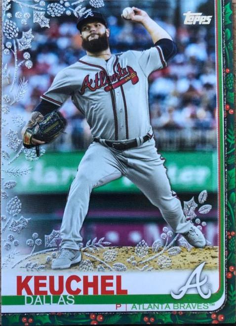 SOLD 78863 2019 Topps Holiday Metallic #HW40 Dallas Keuchel NM-MT Atlanta Braves