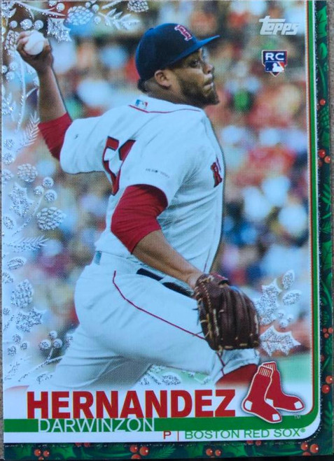 2019 Topps Holiday Metallic #HW98 Darwinzon Hernandez NM-MT Boston Red Sox