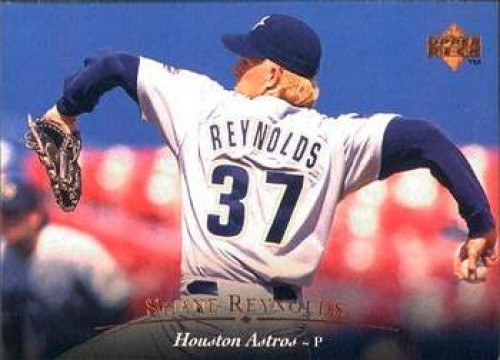 1995 Upper Deck #23 Shane Reynolds VG Houston Astros